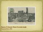 Haouran. Es Sanamin, Ruines d'un ancien temple