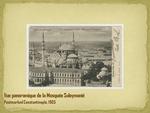 Vue panoramique de la Mosquée Suleymanié