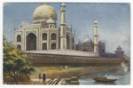 Taj Mahal from the River, Agra by Mary Pattengill