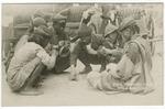 70 C. Bhutia Rikshawmen Game M. Sain Darjeeling by Mary Pattengill