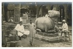 Nandi Sacred Bull, Benares by Mary Pattengill